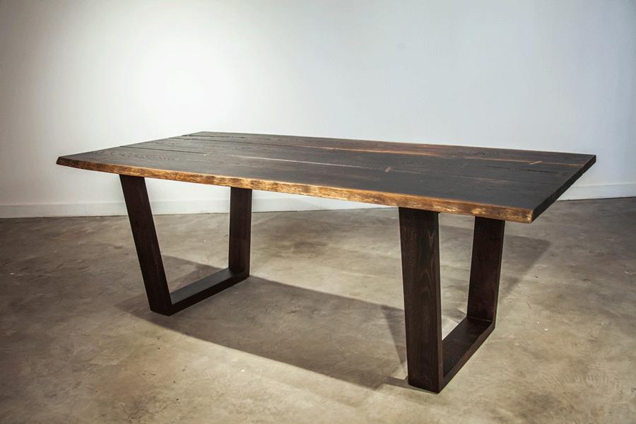 Napa Dining Table Seared Oak