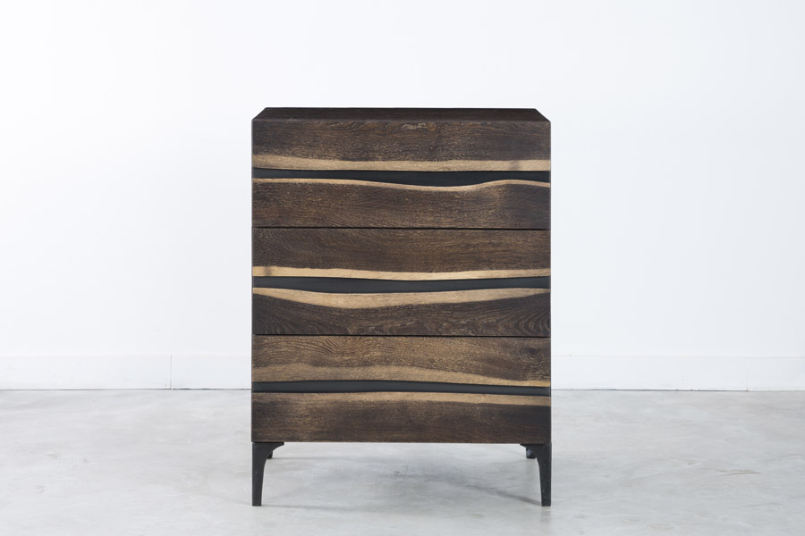 Prana Chest Of 3 Drawers In Seared