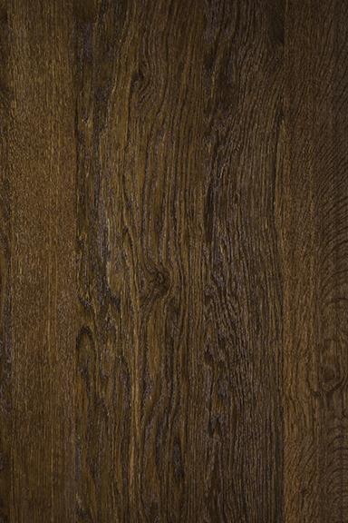 Dark fumed oak